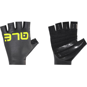 Alé Cycling Aria Gloves black-fluo yellow
